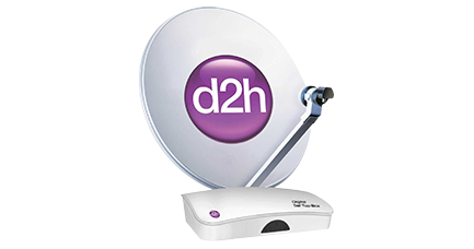 DTH - direct to Home - Videocon d2h satellite TV - DTH