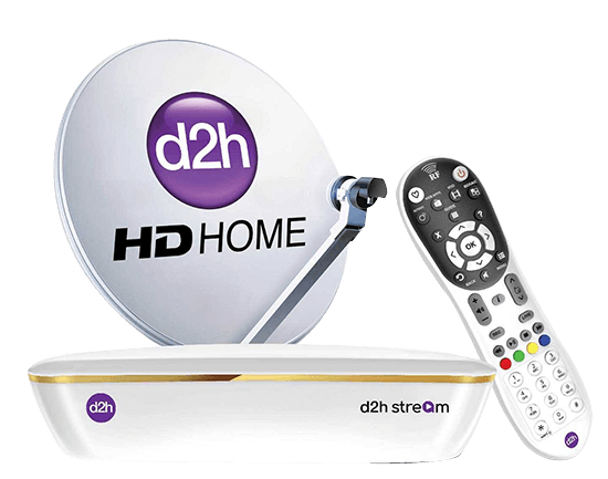 d2h STREAM SET TOP BOX | d2h DTH Service India